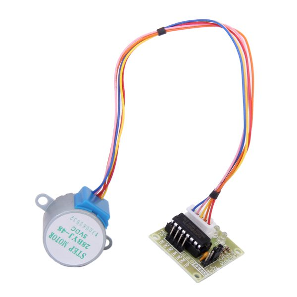 ULN2003 Driver Test Module Board 5 Line 4 Phase DC 5V Micro Stepper Step Motor